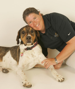 Kate Titus and Harley: photo credit to Lyn Sims